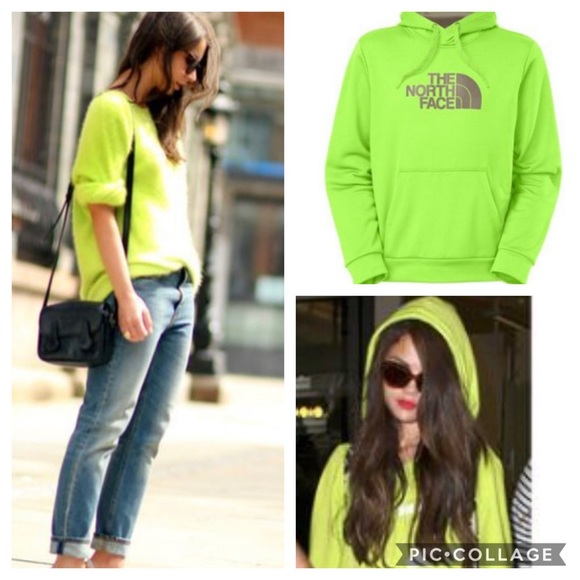 a732b4e0b New The North Face Surgent Hoodie Neon Green NWT